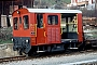 """RACO 1547 - RhB """"92"""" 04.04.1981 - TiefencastelTheo Stolz"""