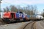 """Vossloh 1001435 - SBB Cargo """"Am 843 082-9"""" 13.03.2020 - Birmensdorf, RistetTheo Stolz"""